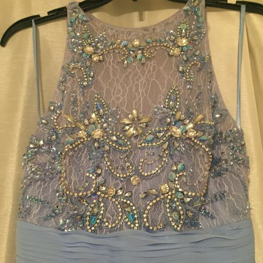 Nordstrom Blue Formal Bridesmaid/Mob Dress Size 0 (XS)