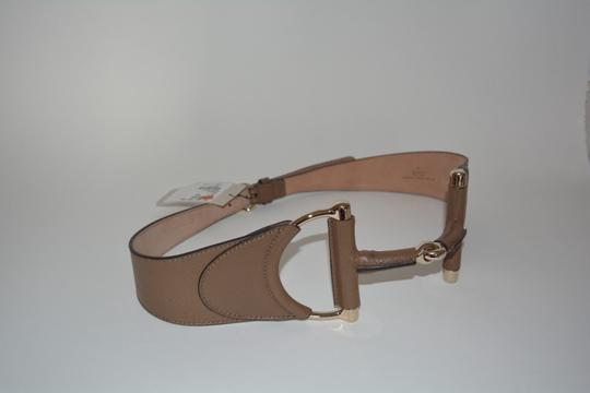 Gucci NWT GUCCI LEATHER HORSEBIT BUCKLE WAIST BELT SZ 32/80 MADE IN ITALY