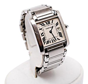 Cartier CARTIER Tank Francaise Medium Stainless Automatic watch