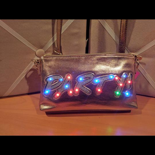 Betsey Johnson Light Up Party Purse Turn Me On Cross Body Bag