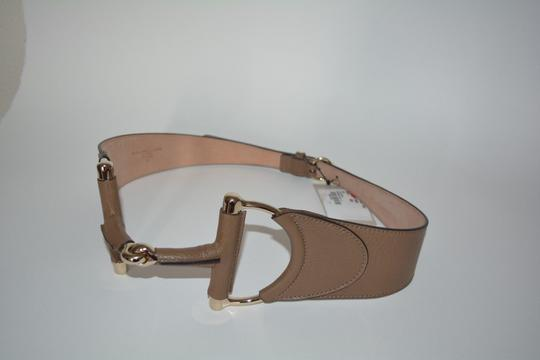 Gucci NWT GUCCI LEATHER HORSEBIT BUCKLE WAIST BELT SZ 30 75 MADE IN ITALY
