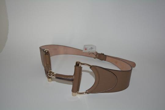 Gucci NWT GUCCI LEATHER HORSEBIT BUCKLE WAIST BELT SZ 38 95 MADE IN ITALY