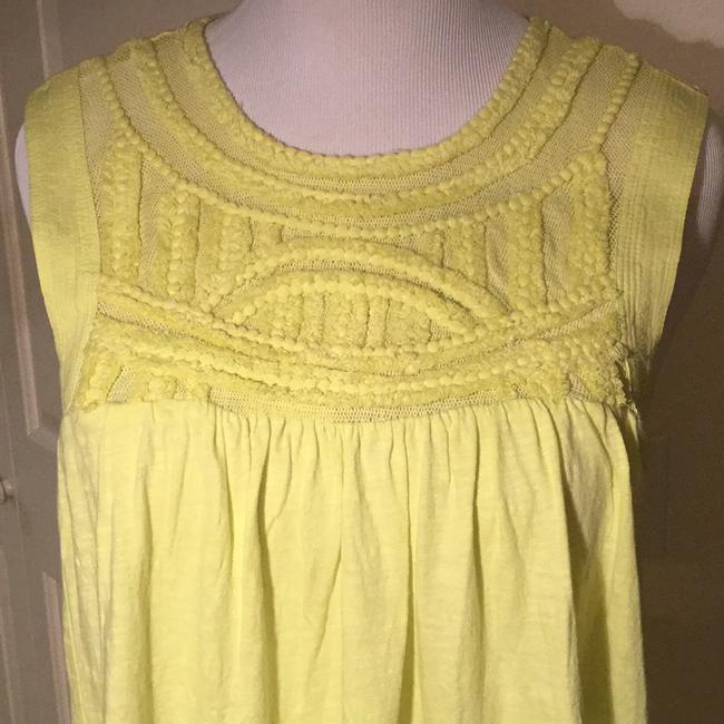 Anthropologie Top Yellow/Green
