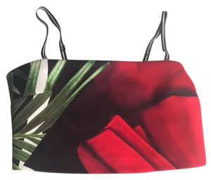 Clover Canyon Top Black white red green