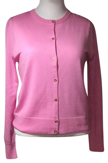 Preload https://img-static.tradesy.com/item/21201183/jcrew-gold-buttoned-merino-pink-sweater-0-1-650-650.jpg