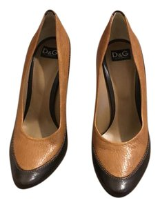 Dolce&Gabbana Brown & Tan Pumps