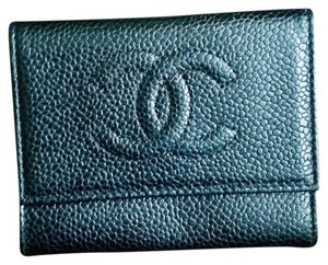 Chanel Timeless CC Caviar leather card holder