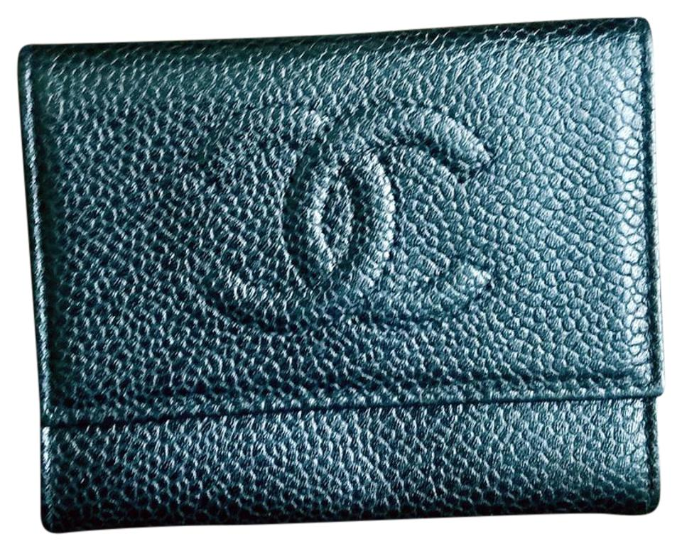 085f60cec822 Chanel Timeless Cc Caviar Leather Card Holder Wallet - Tradesy