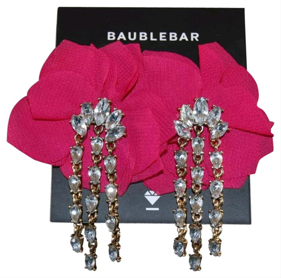 Baublebar Amaryllis Fl Crystal Drop Earrings