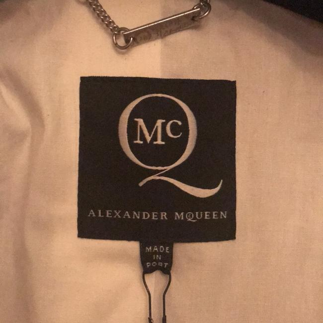 MCQ by Alexander McQueen brown and tan houndstooth Blazer