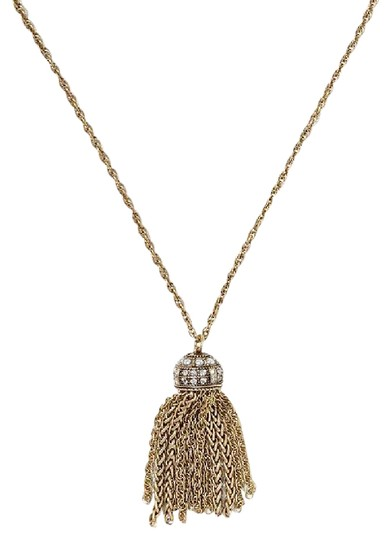 Preload https://img-static.tradesy.com/item/21201500/banana-republic-antique-gold-tassel-long-necklace-0-2-540-540.jpg