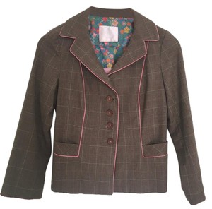Rebecca Taylor Brown and pink Blazer