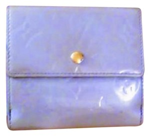 Louis Vuitton Louis Vuitton Lavendar Vernis Trifold Wallet