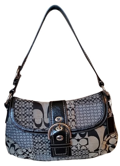 Preload https://item1.tradesy.com/images/coach-blackgray-multi-canvas-and-leather-hobo-bag-2120160-0-0.jpg?width=440&height=440