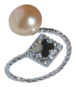 Other ring,pearl ring,silver ring,adjustable ring