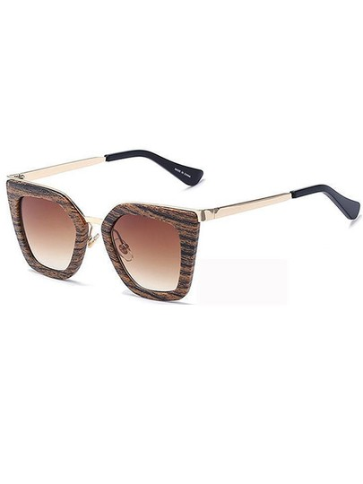 Other Wood Ombre Sunglasses