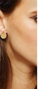 Other Gold Geometric Drop Statement Earrings