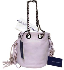 Rebecca Minkoff Fringe Bruni Bucket Shoulder Bag