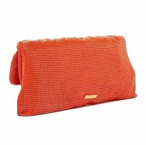 BCBGMAXAZRIA neon orange Clutch
