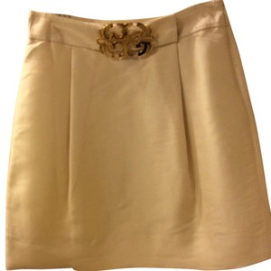 Tory Burch Mini Skirt cream