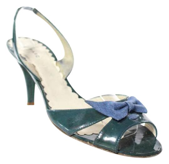 Preload https://img-static.tradesy.com/item/21201732/marc-by-marc-jacobs-green-patent-leather-blue-bow-open-toe-slingbacks-si-pumps-size-us-75-regular-m-0-1-540-540.jpg