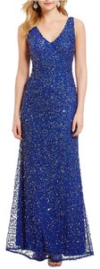 Adrianna Papell Sequin Mermaid Neptune Gown Dress