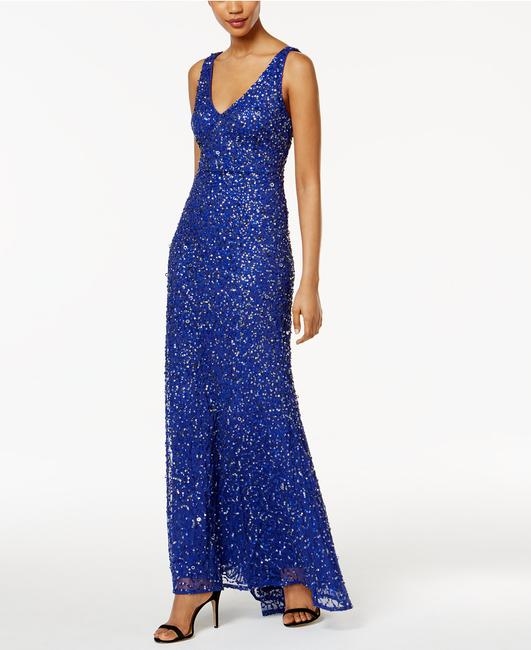Adrianna Papell Sequin Mermaid Gown Dress
