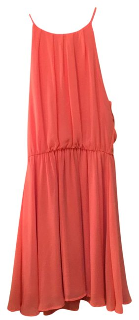 Preload https://img-static.tradesy.com/item/21201886/lush-coral-fit-and-flare-short-casual-dress-size-4-s-0-1-650-650.jpg