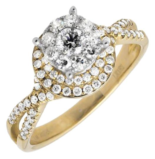 Preload https://img-static.tradesy.com/item/21201905/14k-yellow-gold-halo-solitaire-accent-infinity-shank-diamond-engagement-1ct-ring-0-1-540-540.jpg