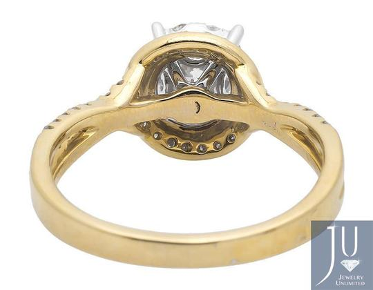 Other Halo Solitaire Accent Infinity Shank Diamond Engagement Ring 1ct