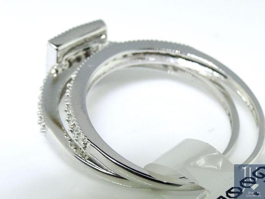 Other Princess Cut Engagement Bridal Solitaire Diamond Ring Set 0.55 Ct