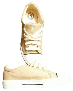 Polo Ralph Lauren Tennis Size 8 Women's Tan and white Athletic