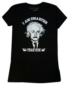 einstein T Shirt black