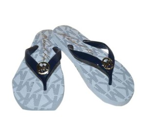 Michael Kors navy Sandals