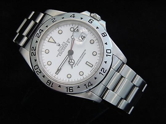 Preload https://img-static.tradesy.com/item/21202492/rolex-white-mens-stainless-steel-explorer-ii-16570-watch-0-2-540-540.jpg