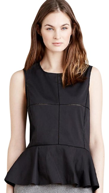 Preload https://img-static.tradesy.com/item/21202495/anthropologie-black-new-with-tags-paned-peplum-blouse-size-6-s-0-1-650-650.jpg