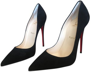85026e51e40e Christian Louboutin Black Patent So Kate Classic Pointy Toe High ...