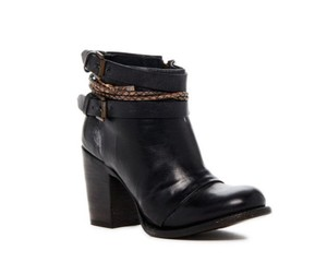 FreeBird Lion Distressed Braided Black Boots