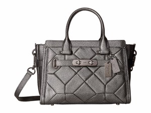 Coach Swagger Carryall 27 Satchel in Gummetal