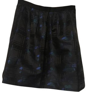 J.Crew Skirt black, green, blue