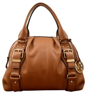 Michael Kors Satchel in Cognac