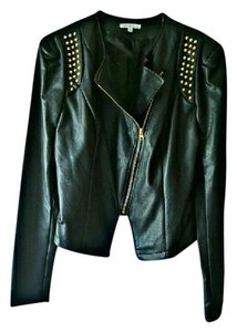 Charlotte Russe Faux Leather Night Out Date Night Leather Jacket