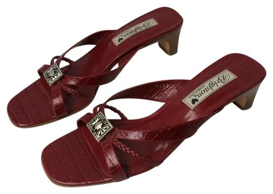 Preload https://img-static.tradesy.com/item/21202846/brighton-burgundy-kayla-leather-sandals-size-us-8-regular-m-b-0-1-540-540.jpg