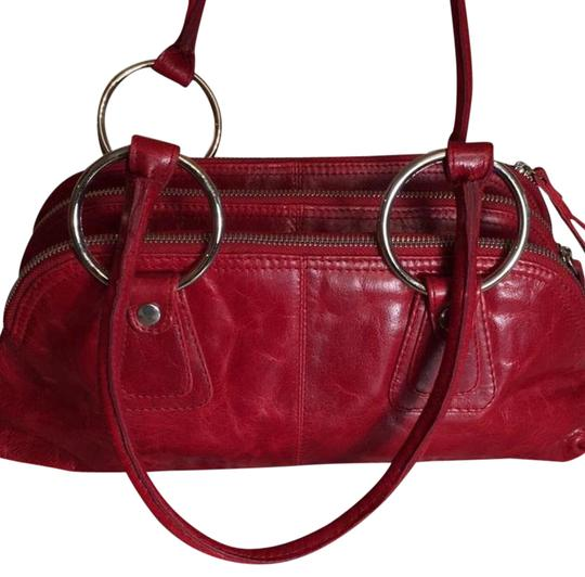 Preload https://img-static.tradesy.com/item/21202880/latico-cherry-red-leather-baguette-0-3-540-540.jpg