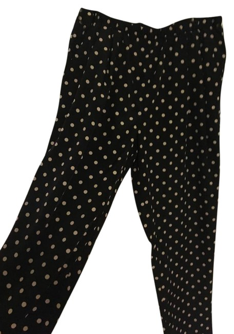 Preload https://img-static.tradesy.com/item/21202905/forever-21-black-polka-dot-straight-leg-pants-size-8-m-29-30-0-1-650-650.jpg