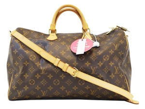 Louis Vuitton Lv Speedy 40 Bandouliere Monogram Handbag Tote