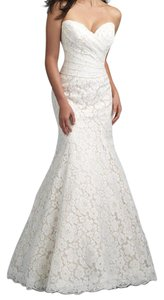Allure Bridals Champagne/Ivory 9210 Wedding Dress Size 24 (Plus 2x)
