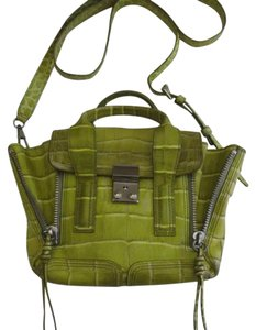 3.1 Phillip Lim Satchel in green yellowish lime