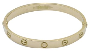 Cartier Cartier Love Bracelet Yellow Gold Size 16