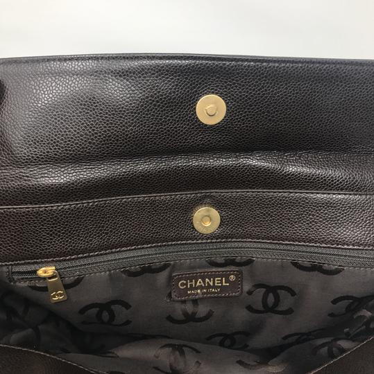 Chanel Tote in Chocolate Brown